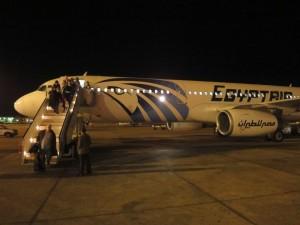 Un Airbus A320 d'Egypt Air - Image Flight Report