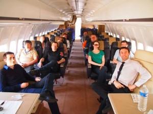 Visite d'avion au sol pour le stage phobie avion