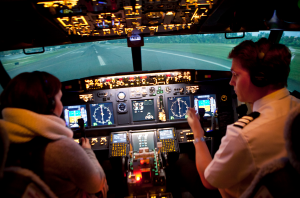 Simulateur de vol - stage peur avion