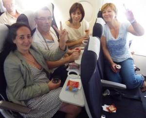 accompagnement en vol contre la phobie de l'avion
