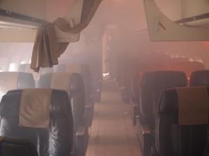 sécurité enfumage de l'avion