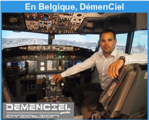 Stage contre la peur de l'avion en Belgique à Charleroi
