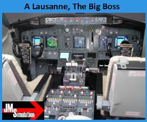 Stage contre la peur de l'avion en Suisse à Lausanne